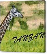 Tanzania Poster Canvas Print