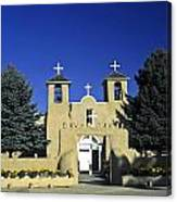 Taos Adobe Church Canvas Print