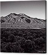 Taos In The Zone Canvas Print