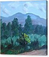 Taos Mountain Canvas Print