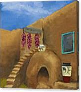 Taos Poetry Canvas Print