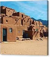 Taos Pueblo 4 Canvas Print