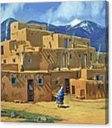 Taos Pueblo Canvas Print