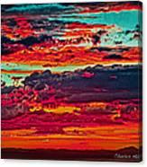 Taos Sunset Xix Canvas Print