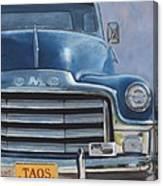 Taos Truck Canvas Print