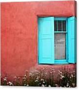 Taos Window Iv Canvas Print