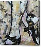 Tap Away Canvas Print