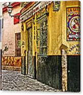 Tapas Bar In Sevilla Spain Canvas Print