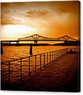 Tappan Zee Bridge I Canvas Print