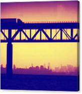 Tappan Zee Bridge Iv Canvas Print