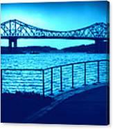 Tappan Zee Bridge Vii Canvas Print