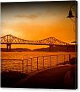Tappan Zee Bridge Viii Canvas Print