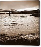 Tappan Zee Bridge X Canvas Print