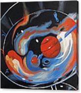 Tar Heel Martini 2011 Canvas Print