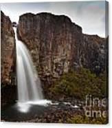 Taranaki Falls In Tongariro Np New Zealand Canvas Print
