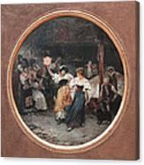 Tarantella Canvas Print