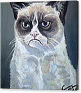Tard - Grumpy Cat Canvas Print