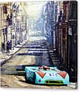 Targa Florio 1970  Porsche 908 Siffert Canvas Print