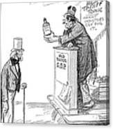 Tariff Bill, 1921 Canvas Print
