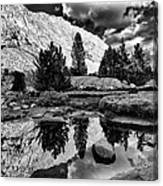 Tarn Reflection Canvas Print