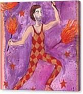 Tarot 1 The Juggler Canvas Print