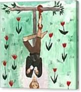 Tarot 12 The Hanged Man Canvas Print