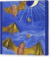 Tarot 18 The Moon Canvas Print