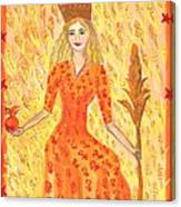 Tarot 3 The Empress Canvas Print