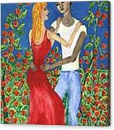 Tarot 6 The Lovers Canvas Print