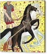 Tarot 7 The Chariot Canvas Print