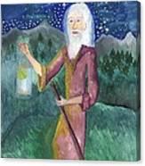 Tarot 9 The Hermit Canvas Print