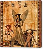 Tarot Card Judgement Canvas Print