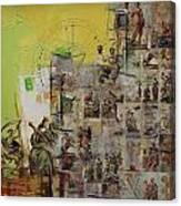 Tarot Card Set Canvas Print