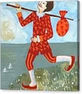 Tarot The Fool Canvas Print