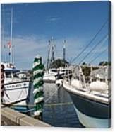 Tarpon Springs Fishing Boats  Canvas Print