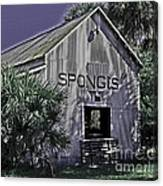 Tarpon Springs Warehouse II Canvas Print