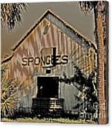 Tarpon Springs Warehouse Canvas Print