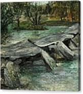 Tarr Steps Canvas Print