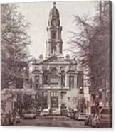 Tarrant County Courthouse Canvas Print