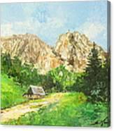 Tatry Giewont - Poland Canvas Print