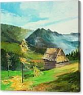 Tatry Mountains Canvas Print