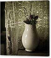 Tattered Canvas Print