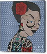 Tattoo Chic Bubble 2 Canvas Print