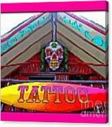 Tattoo Sign Digital Canvas Print