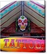 Tattoo Sign  Canvas Print