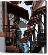 Taxco Balconies Canvas Print