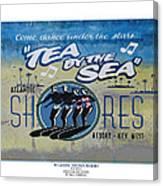 Tea Dance Canvas Print