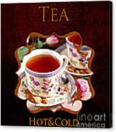Tea Gallery Canvas Print