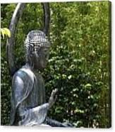 Tea Garden Buddha Canvas Print