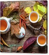 Tea Of September Canvas Print